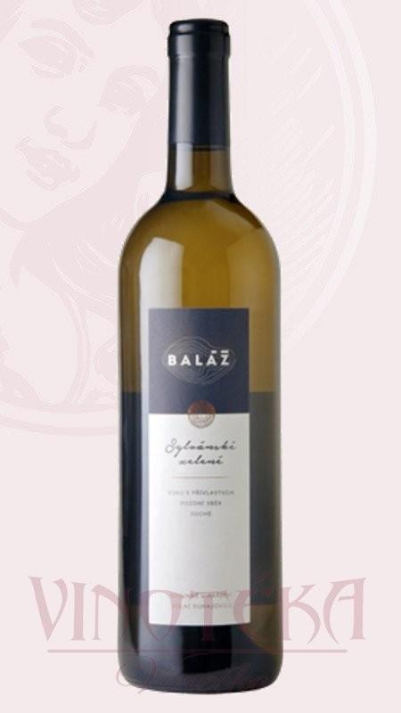 Sylvánské zelené, výběr z hroznů, Vinařství Baláž
