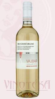 Veltlinské zelené, pozdní sběr, 2017, Vinařství Vajbar