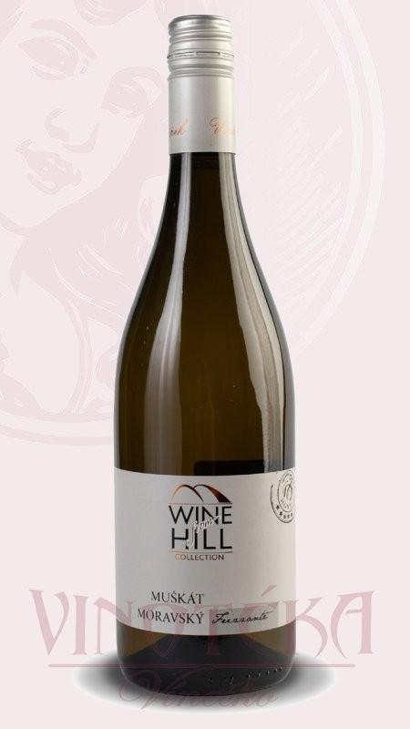 Wine Hill, Muškát Moravský, Frizzante, Vinařství Knápek