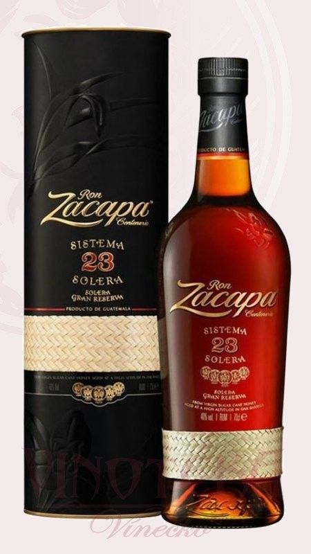 Zacapa rum Centenario, 23 let, Zacapa 1 l,