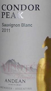 Condor Peak, Sauvignon Blanc 2011, Andean