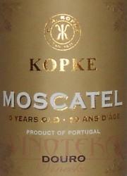 Moscatel aged 10 years, DOC, Kopke