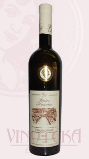 Chardonnay, výběr z hroznů, 2016/17, Vinice Hnanice