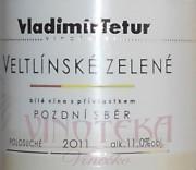 Veltlínské zelené, Vinařství Tetur