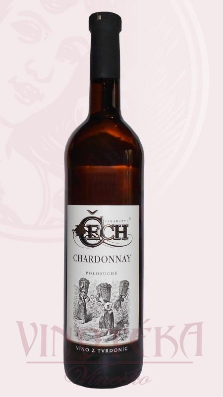Chardonnay, zemské, Čech