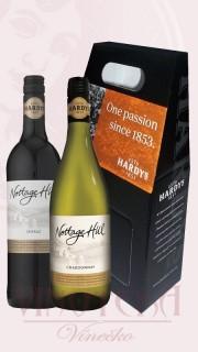 Hardy´s Notage Hill - dárkový set : Chardonnay 2014 + Shiraz 2013 Austrálie