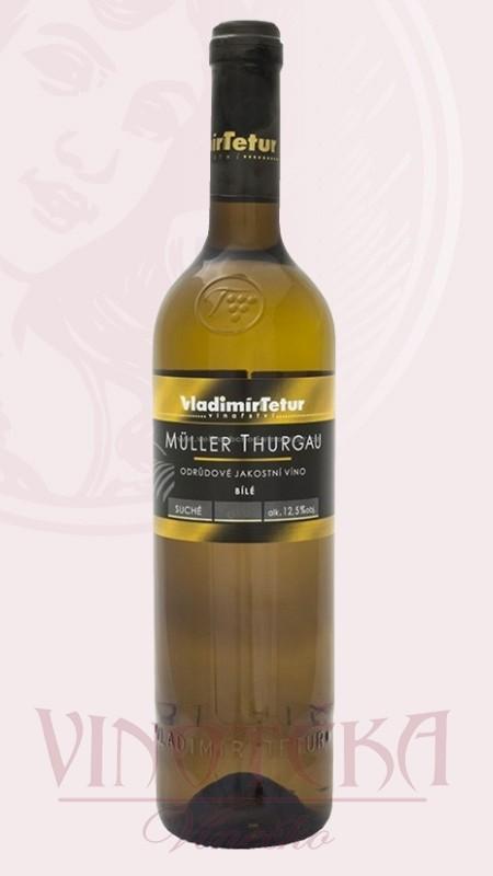 Muller Thurgau, jakostní, Tetur