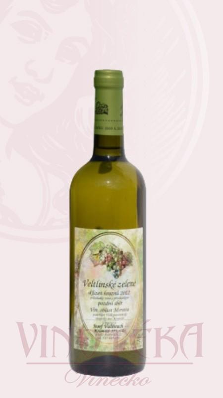 Veltlínské zelené, Vinařství Valihrach