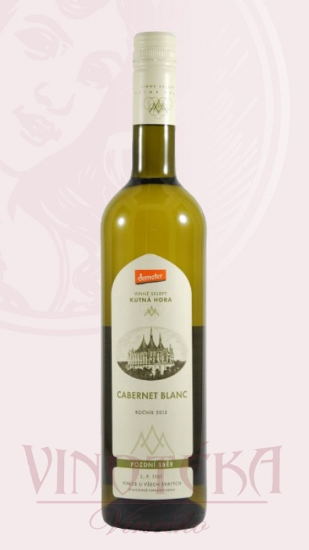 Cabernet blanc pozdní sběr Vinné sklepy Kutná Hora
