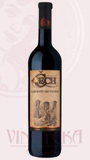 Cabernet Sauvignon, pozdní sběr, 2015, Vinařství Čech