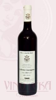 Cabernet Sauvignon, výběr z hroznů, 2015, Vinařská škola
