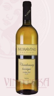 Chardonnay barrique, pozdní sběr, 2016, Vinařství Moravíno Valtice