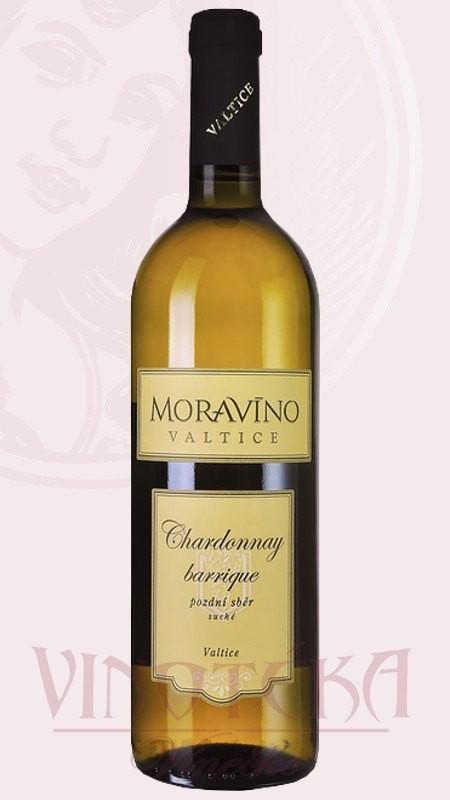 Chardonnay barrique, Moravíno Valtice