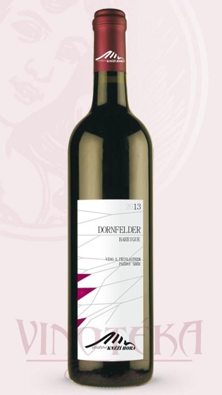 Dornfelder, Vinařství Kněží Hora