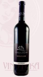 Dornfelder, pozdní sběr, 2018, Vinařství Červinka
