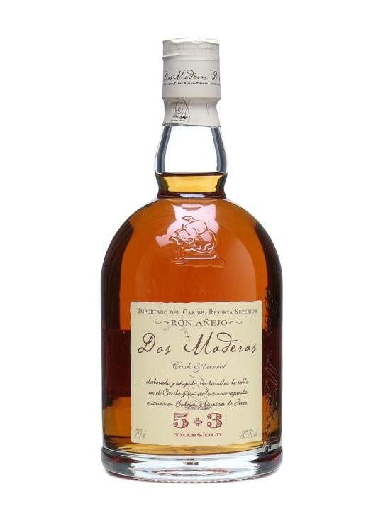 Dos Maderas Rum, Anejo, 5+3 let, 0,7 l Williams & Humbert