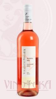 Frankovka rosé, pozdní sběr 2018, Vinařství Volařík