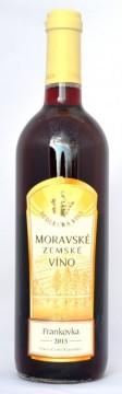 Frankovka, zemské, 2015,Vinařství Sedlecká vína (VÝPRODEJ)