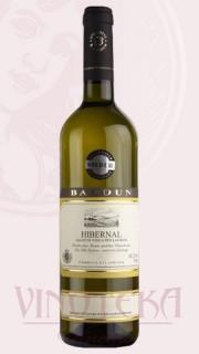 Hibernal, pozdní sběr, 2017, Vinařství Baloun