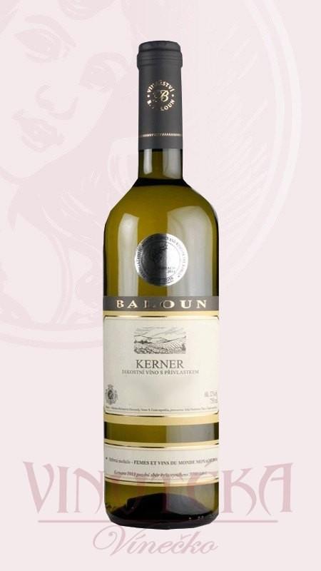 Kerner, pozdní sběr, Baloun