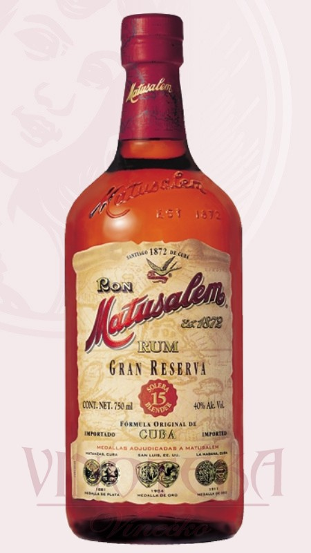 Matusalem rum, gran reserva, 15 let 0,7 l Ron Matusalem