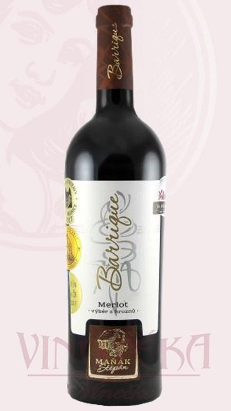 Merlot, Vinařství Štěpán Maňák
