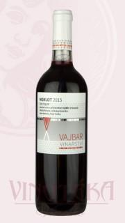 Merlot barique, výběr z hroznů, 2015, Vinařství Vajbar