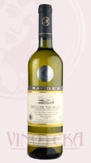 Müller Thurgau, pozdní sběr, 2016, Vinařství Baloun