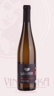Müller Thurgau, pozdní sběr, 2017, Vinařství Lahofer