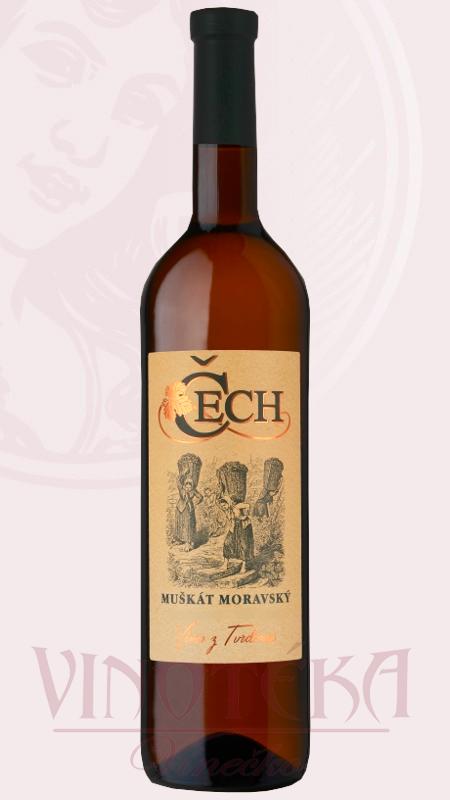 Muškát moravský, Vinařství Čech