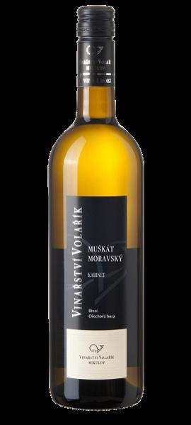 Muškát moravský, pozdní sběr, 2018, Vinařství Volařík