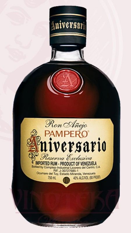 Aniversario Pampero rum