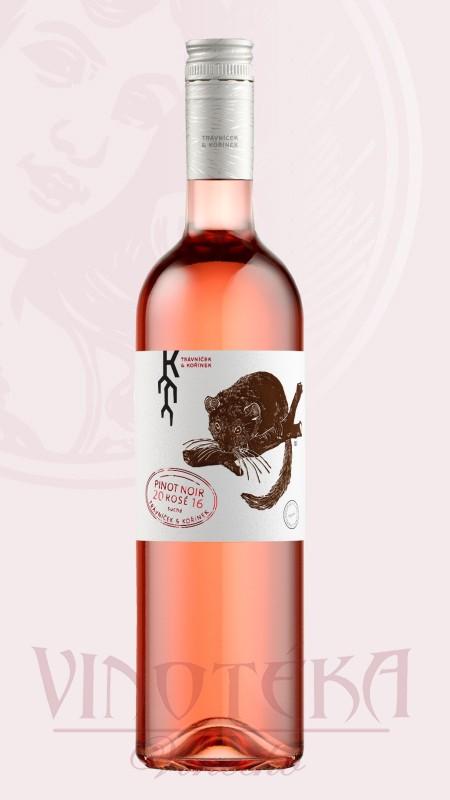 Pinot noir rosé, Trávníček Kořínek