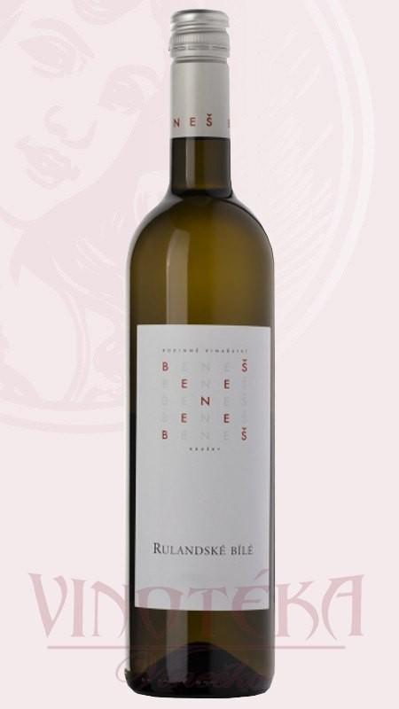 Rulandské bílé, Vinařství Beneš