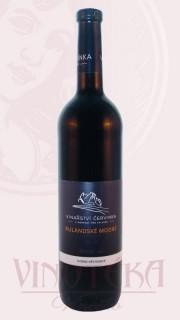 Rulandske modré barique, pozdní sběr, 2015, Vinařství Červinka