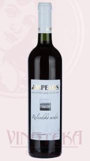 Rulandské modré, výběr z hroznů, 2016, Vinařství Ampelos