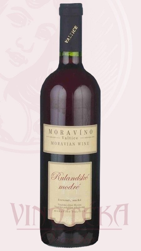 Rulandské modré, Vinařství Moravíno Valtice