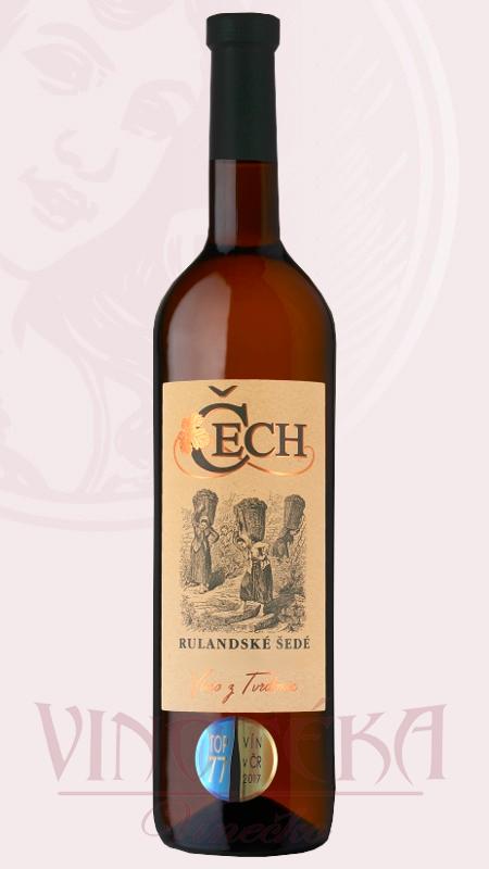Rulandské šedé, Vinařství Čech