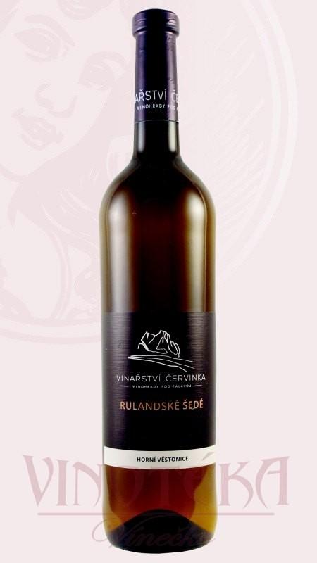 Rulandské šedé, Vinařství Červinka
