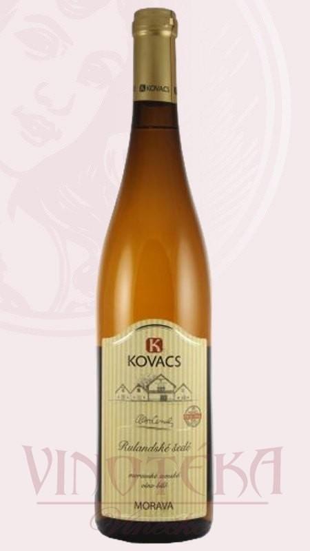 Rulandské šedé, Vinařství Kovacs