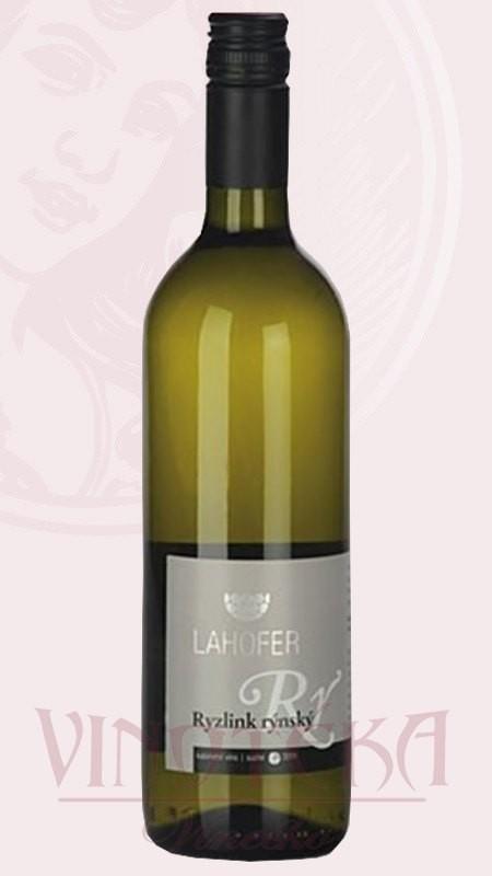 Ryzlink rýnský, Vinařství Lahofer