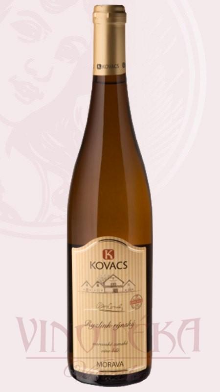Ryzlink rýnský, Vinařství Kovacs