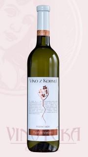 Ryzlink vlašský, pozdní sběr, 2015, Víno z Kobylí