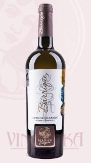 """Ryzlink vlašský """"Terroir"""", výběr z hroznů, 2016, Vinařství Štěpán Maňák"""