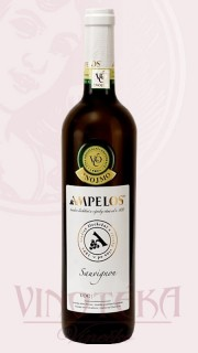 Sauvignon, VOC, 2017, Vinařství Ampelos