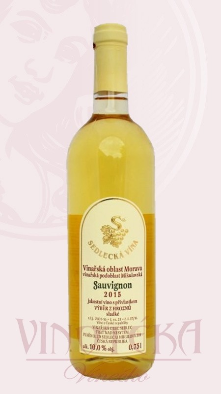 Sauvignon, Sedlecká vína