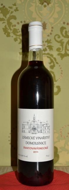 Svatovavřinecké, zemské 2015, Zámecké Vinařství Domousnice Zámecké vinařství Munzar Domousnice