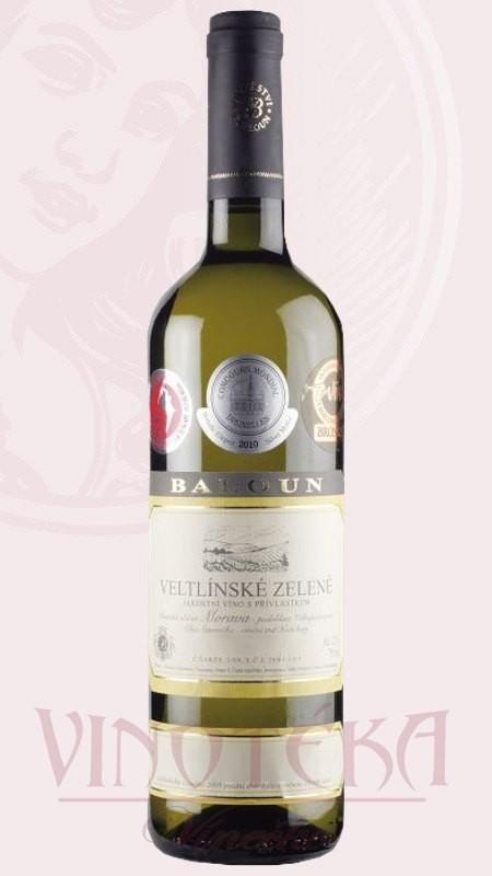 Veltlínské zelené, Vinařství Baloun