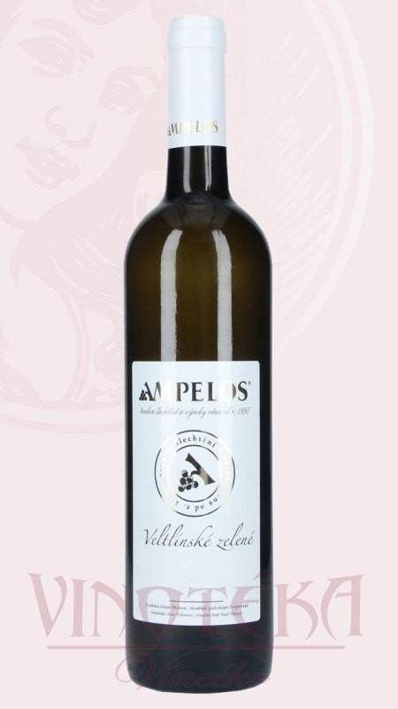 Veltlínské zelené, pozdní sběr, Vinařství Ampelos