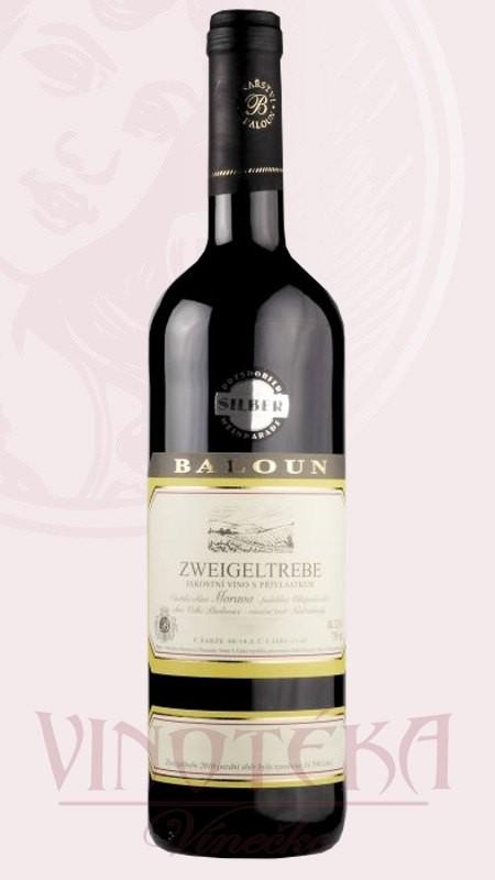 Zweigeltrebe, Vinařství Baloun